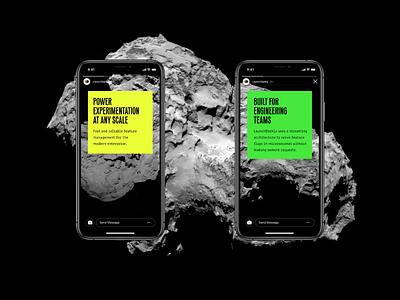 Rocky boneyard visual language branding app ui