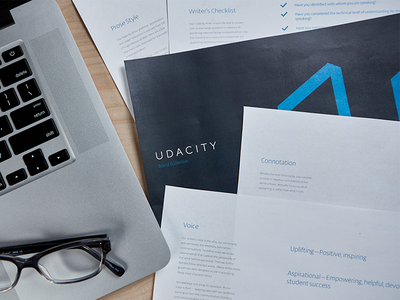 Communications Style Guide language identity design udacity brand voice content voice communication style guide focus lab branding