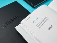 Jj brand book story