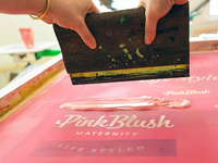 Pink Blush Logotype