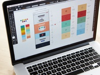 Wireframing + Story Planning
