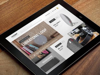 Ecommerce Design Layout shop sound simple clean screen design website design web design shopping ecommerce focus lab ui