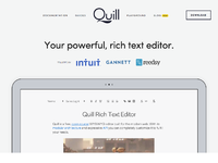 Quill 1 0! by Focus Lab on Dribbble