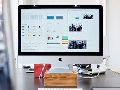 We love UI KITS 😻 ui guidelines ui guide style guide user interface ui kits ui kit focus lab ui