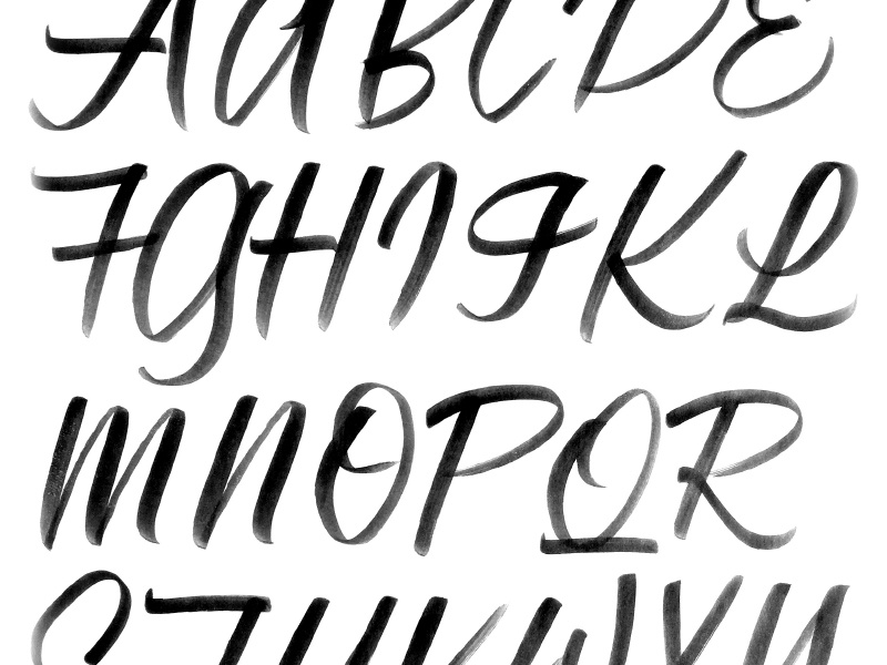 Lettering Worksheets by Focus Lab on Dribbble