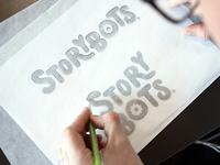 StoryBots Logotype Reworked