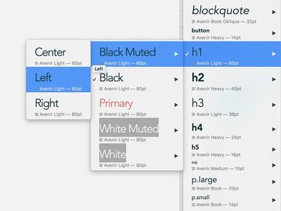 Sketch Typography Styles type styles style sketch template assets sidecar focus lab sketch app sketch