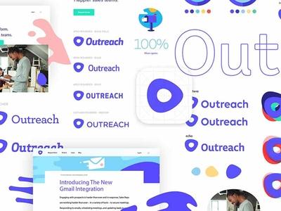 Outreach Identity Exploration logo design identity design brand identity o logo outreach branding focus lab identity