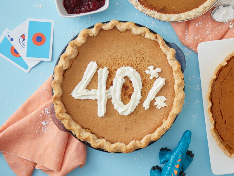 Time for pie! focus lab style guides sketch products photo bundles brand assets design assets 40 percent 40 pie made by sidecar coupon code coupon discount madebysidecar sidecar