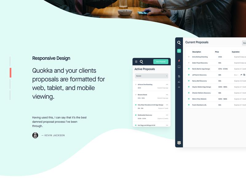 Quokka is LIVE! focus lab responsive proposal saas agency tools proposals quokka
