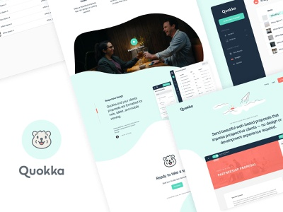 Quokka Website identity design ui proposal tool saas focus lab quokka proposal template proposal propsals