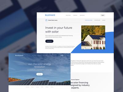Bluewave Solar Website