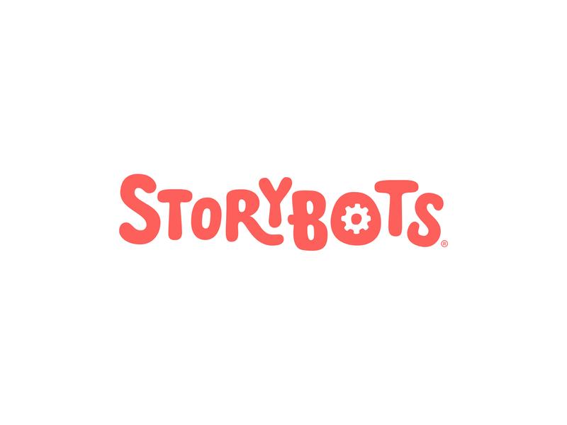 StoryBots Logotype netflix storybots branding identity custom logotype branding agency brand agency brand development brand identity design logo logotype brand identity brand design logo design identity identity design branding focus lab