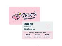Zelky's Business Cards
