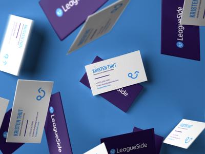LeagueSide Business Card