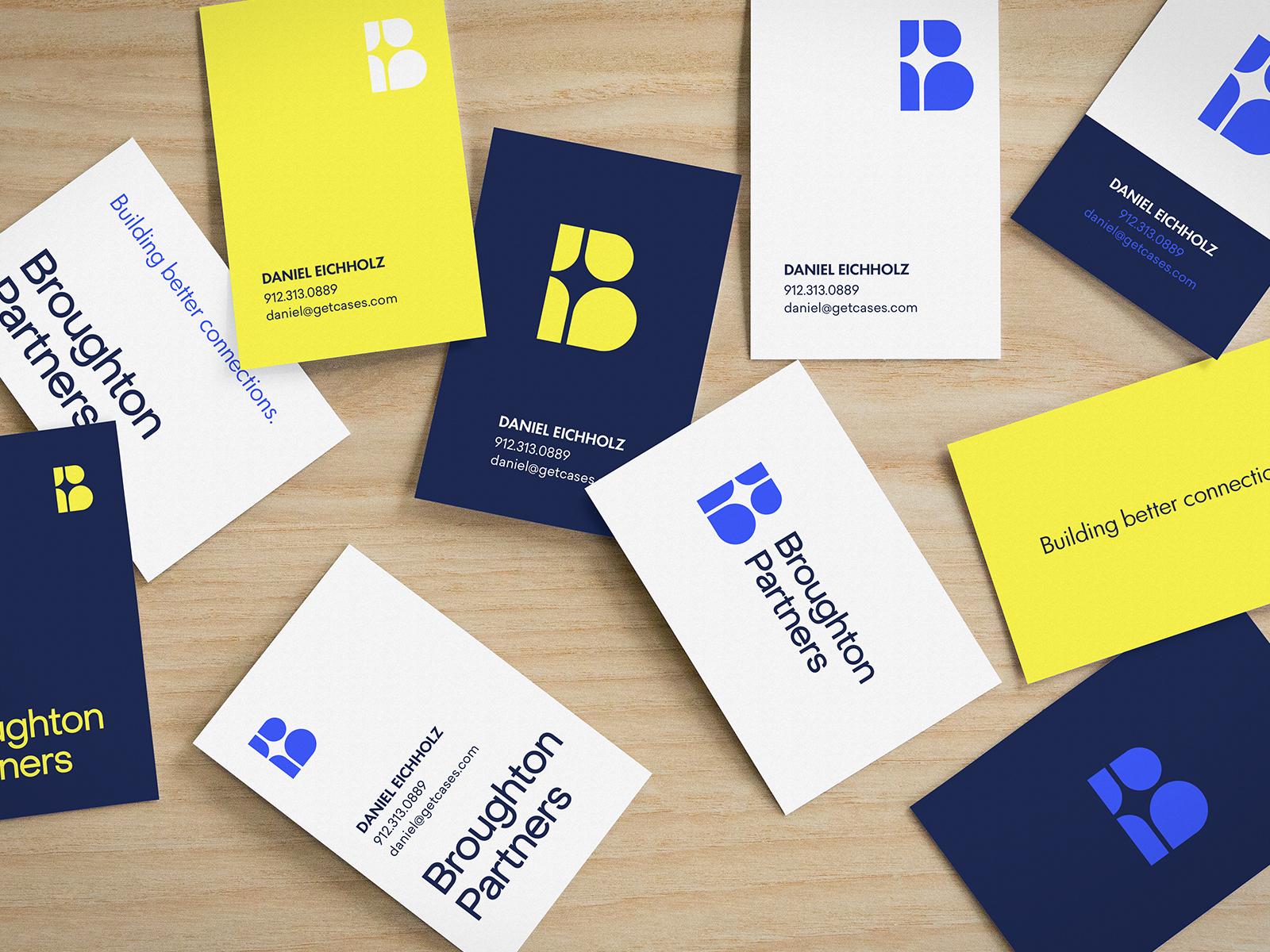 Broughton partners branding