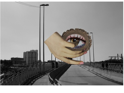 he doesn't care about your tears. eye abstract art adobe photoshop photography collage
