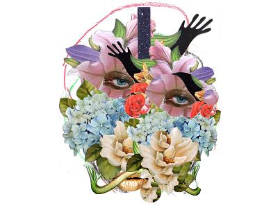 2019 eyes flower photography adobe photoshop collage art collage