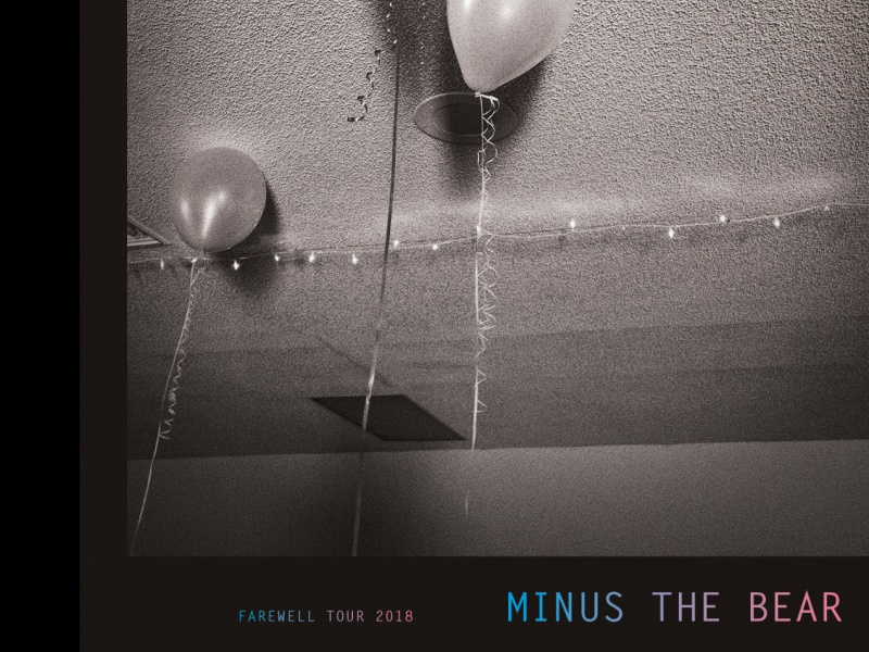 Minus The Bear Farewell Tour Poster 52weeks poster art poster design rockposter rock indie typography illustration design