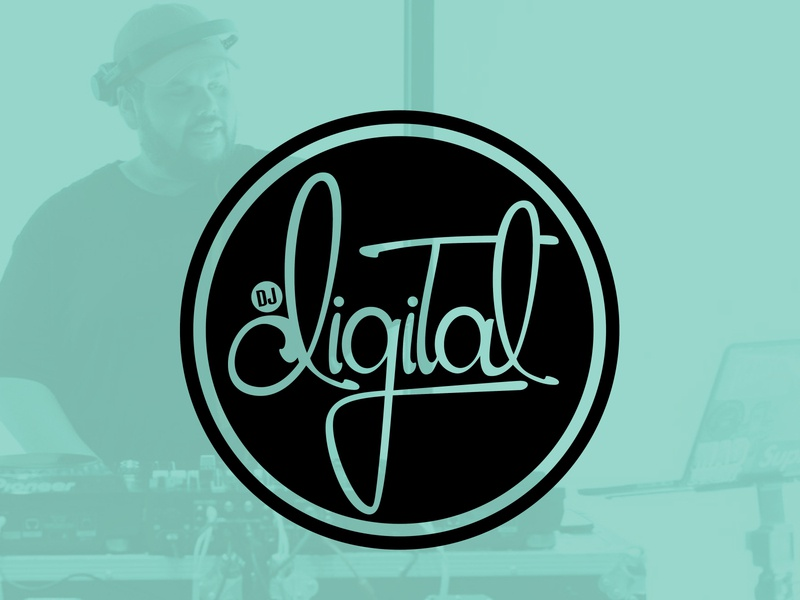 DJ DIGITAL - Logo Design