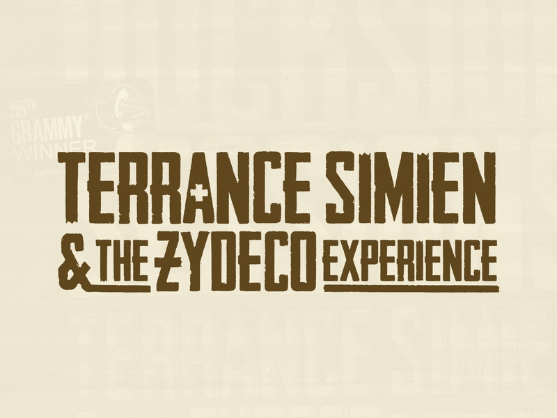 TERRANCE SIMIEN & THE ZYDECO EXPERIENCE - Logo Design