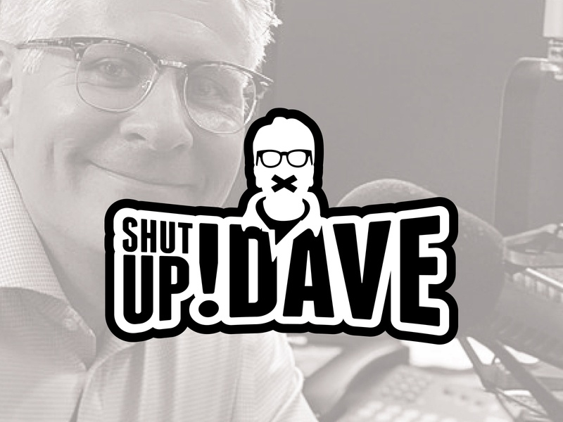 SHUT UP DAVE Podcast - Logo Design