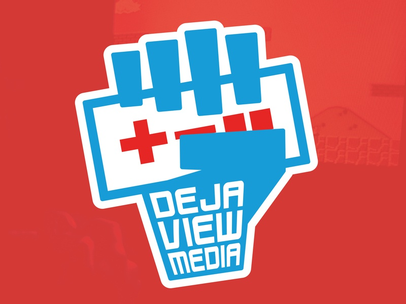 DEJA VIEW MEDIA  - Logo Design