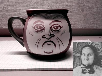 Old Maid Mug