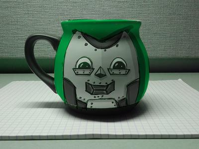 Chibi Dr. Doom Mug