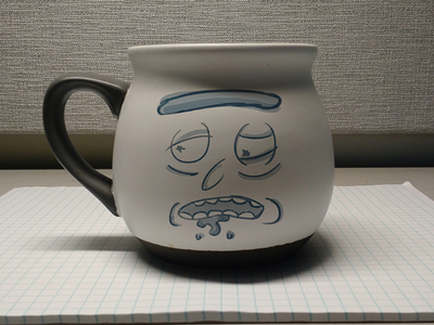 I'm real tired, Morty Mug