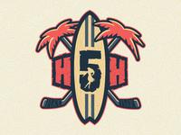 Hawaii 5-Hole Logo