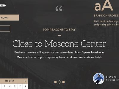 Style Tile inn boutique hotel management hospitality hotel style tile ui