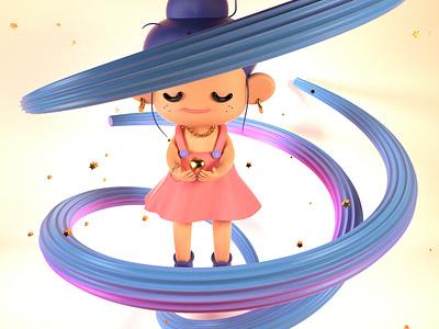 Sugar character design 3dmodeling illustration design cinema4d 3d art
