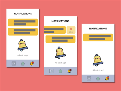 Daily UI #049 - Notifications