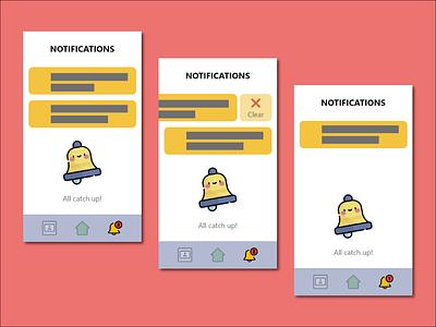 Daily UI #049 - Notifications notifications dailyui049 dailyui