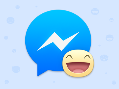 Facebook Messenger system os x mac replacement icon messenger facebook