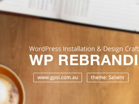 Rebranding WP Theme - gpsi.com.au