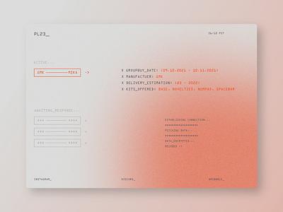 PL23_ mezzotint design branding minimal web design website ux poster ui graphic design