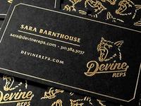 Devine Reps Business Cards