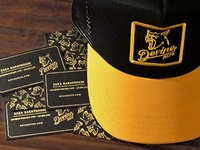 Hat and cards for Devine Reps