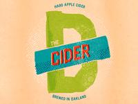 The D Cider Logo
