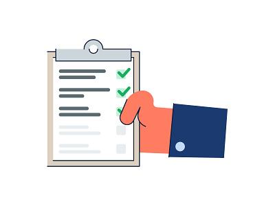 Check List list mark check inturn brooklyn ny illustration shirt hand checklist check in