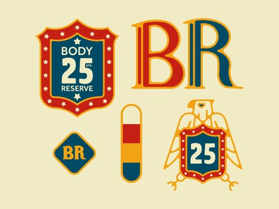 Body Reserve Branding Elements
