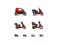Scoot App Icons