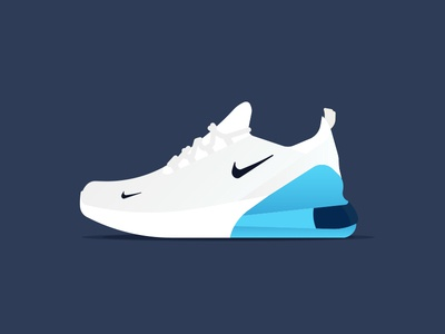 Nike Airmax 270 air max feel the air footwear white color way brooklyn ny illustration sneaker head shoe lifestyle 270 nike