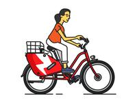 Scoot Ebike Rider