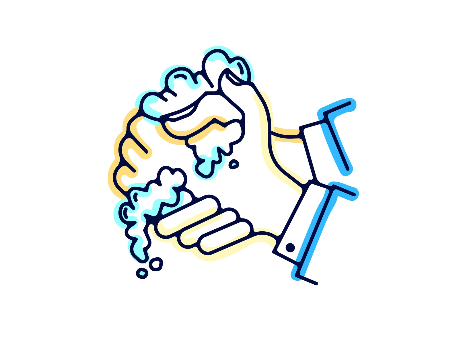 Please Wash Your Hands By Tyler Mays Dribbble