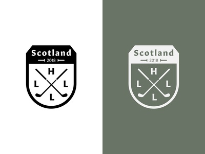 Family Crest Golf Patch