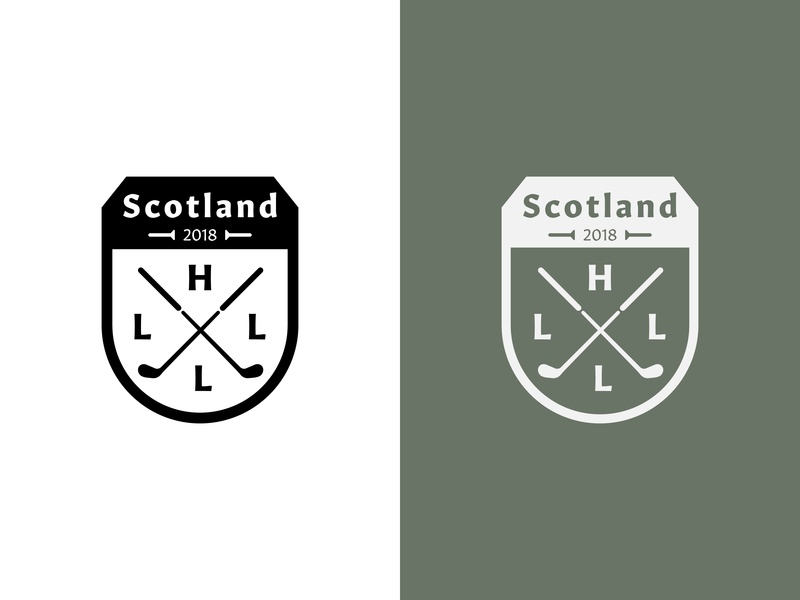 Family Crest Golf Patch attachment printed sports knockout green vacation monogram logo brooklyn ny vest tee clubs logo 2018 scotland family crest patch golfing
