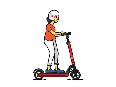Scoot Kick Rider